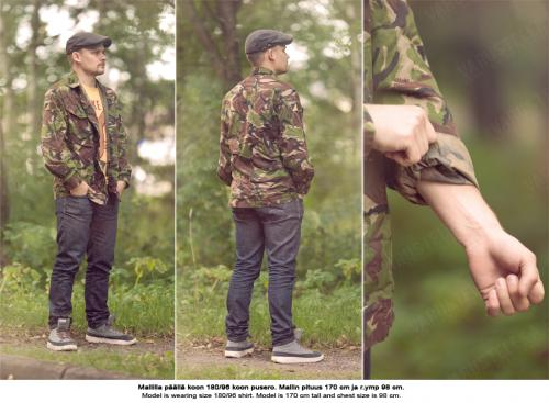 British CS95 field shirt, DPM, surplus.