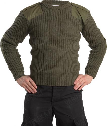 British jersey, men's, olive green, surplus