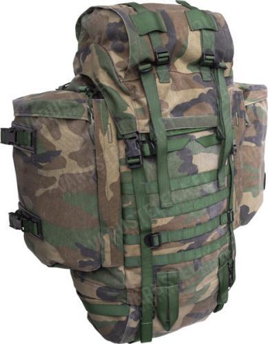 Dutch Lowe Alpine Saracen rucksack, Woodland, surplus