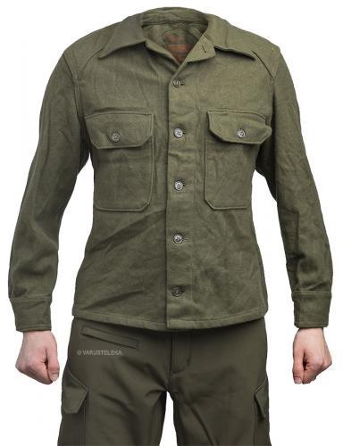 US M-1951 wool shirt, surplus