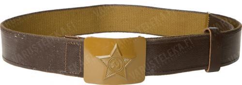 Soviet webbing belt, rubberized, surplus