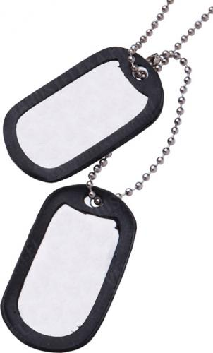 US Dog Tags, blank