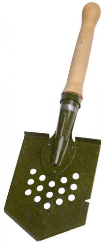 Russian field spade, straight, spring steel