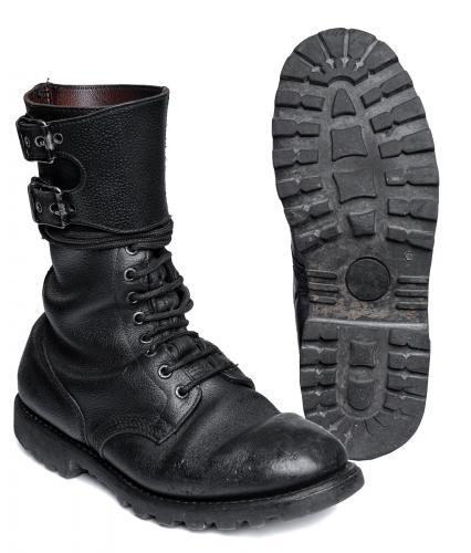 French BM65 double buckle boots, black, surplus