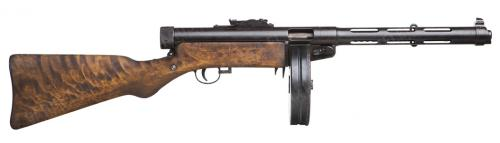 Finnish KP/31 Suomi SMG, without muzzle brake, deactivated