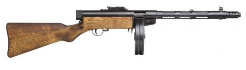 Finnish M/31 Suomi SMG, with muzzle brake, deactivated