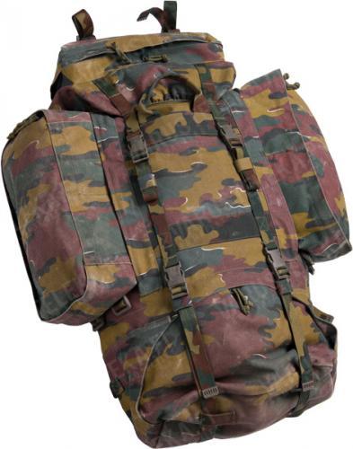 Belgian large rucksack, Jigsaw-camo, surplus
