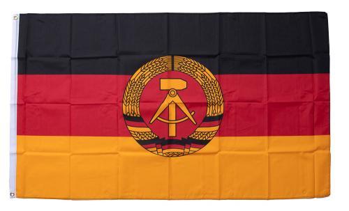 East German flag, 150 x 90 cm
