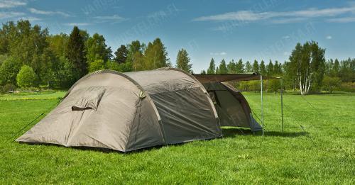 Mil-Tec three person tunnel tent, olive drab