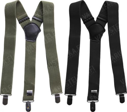 Mil-Tec trouser braces with clips.
