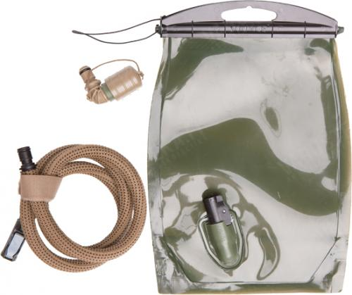 Source Kangaroo Collapsible Canteen hydration reservoir, 1L.