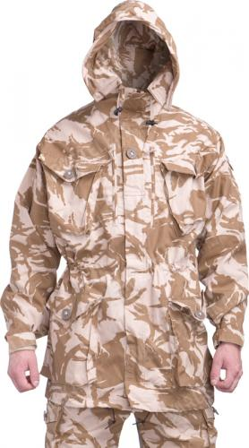 British CS95 Windproof Smock, Desert DPM, surplus