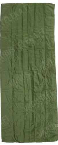Mil-Tec sleeping bag liner, olive drab