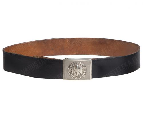 BW parade belt, leather, surplus