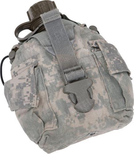 US MOLLE II water bottle pouch, surplus