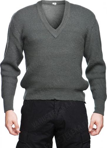 Austrian pullover, gray, surplus