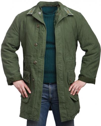 Swedish M59 parka, with liner, green, surplus
