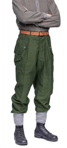 Swedish M59 field trousers, green, surplus