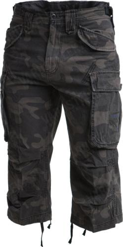 Brandit Industry 3/4 shorts, Dark Camo