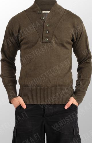 US wool sweater, brown, surplus