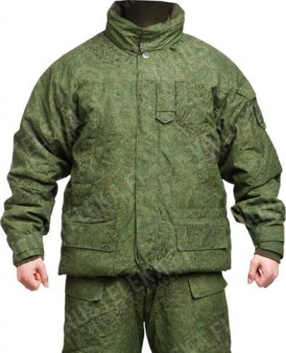 """Russian """"Digiflora"""" winter jacket, surplus"""
