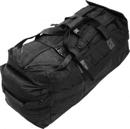 British duffel bag, 100 l, black, surplus