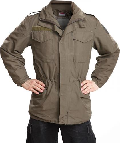 Austrian field jacket w. membrane, surplus