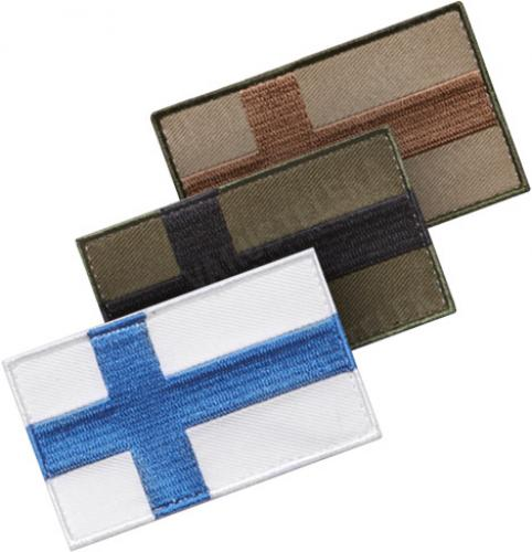 Särmä TST Finnish flag patch, 77 x 47 mm,
