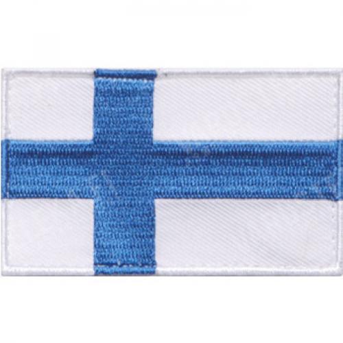Särmä TST Finnish flag patch, 77 x 47 mm,