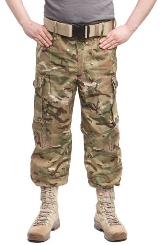British CS95 Windproof trousers, MTP, surplus