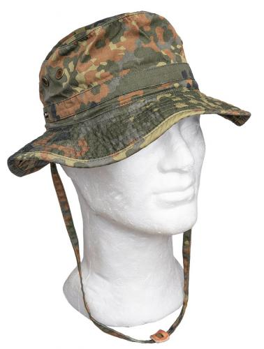 BW Tropical Hat, Flecktarn, surplus