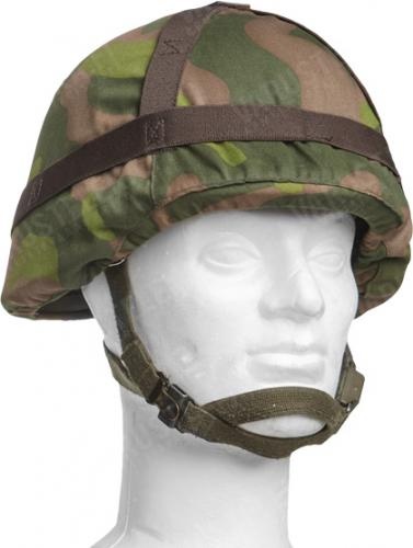 Finnish M92 helmet cover, M91 camouflage, surplus