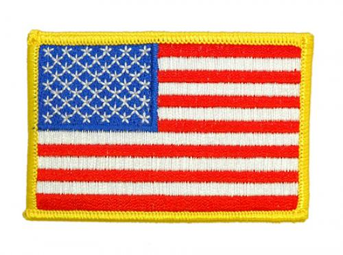 US national flag (arm patch), full colour