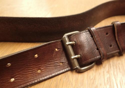 "Särmä Leather Belt, Veggie Tanned, 50 mm / 2"". 1915 or 2015? This belt gets a magnificent patina in use!"