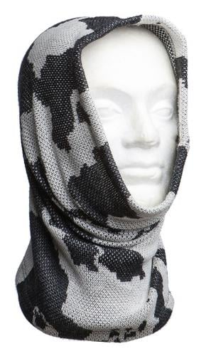 Särmä Heavy Neck Tube, Merino Wool. The good old Stalingrad style offers protection for the cheeks and top of the head.