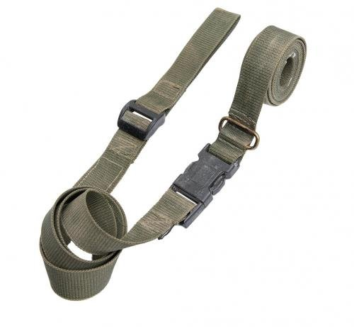 British SA80 three point carry sling, green, surplus