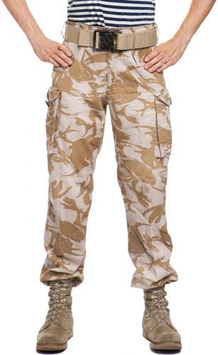 British CS95 cargo pants, Desert DPM, surplus