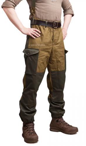 Bars Gorka field trousers, brown