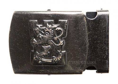 Finnish lion belt buckle, small, surplus