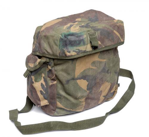 British PLCE gas mask bag, DPM, surplus