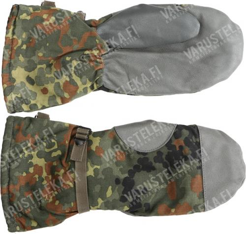 BW mittens, Flecktarn, surplus