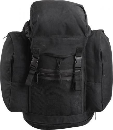 British patrol backpack, 30 litres, black, surplus