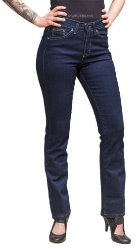 Särmä Ladies Common Jeans, Blue. Fabric weight 326 g/m2, 98 % cotton and 2 % elastane