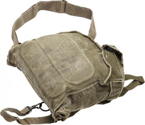 US M17 gas mask bag, surplus