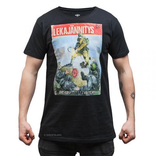 Särmä T-shirt, Lekajännitys