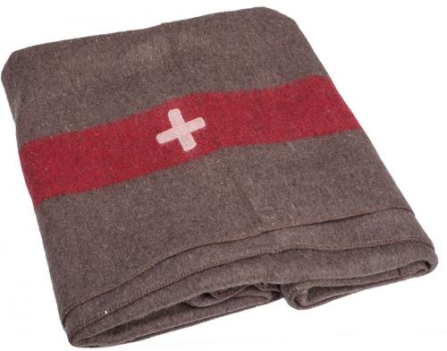 Swiss wool blanket, repro