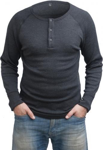 Särmä Henley Shirt, merino wool
