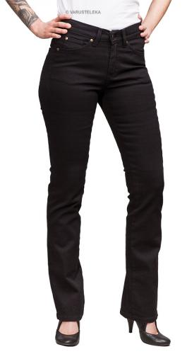 Särmä ladies common jeans, black