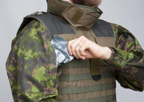 Särmä TST M05 RES camo jacket. The added sleeve pockets are great when wearing tactical vests.