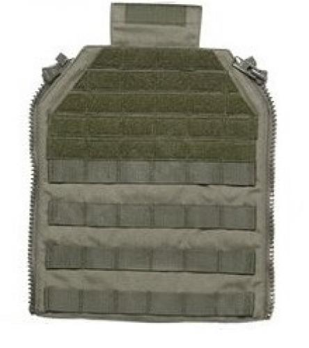 Sioen Tacticum Plate Carrier zip panel